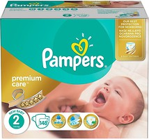 Фото Pampers Premium Care Mini 2 (148 шт)
