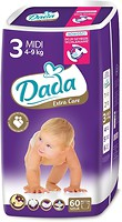 Dada Extra Care Midi 3 (4-9 кг) 60 шт