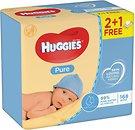 Фото Huggies Влажные салфетки детские Pure 3x56 шт.