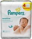 Фото Pampers Влажные салфетки детские Sensitive 4x56 шт.