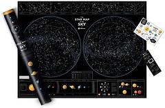 Фото 1dea.me Карта звездного неба Star map of the sky (SMSen/4820191130333)