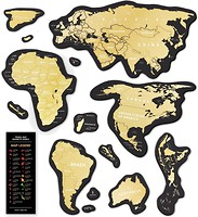 Фото 1dea.me Скретч-карта мира Travel Map Magnetic World (4820191130609)