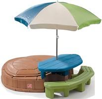 Фото Step2 Песочница с зонтом (843700)