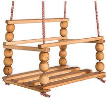Гойдалка Качеля подвесная с шариками (0005)