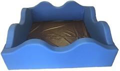 Фото Tia-sport Сухой бассейн волна 120x120x40 см (0304)