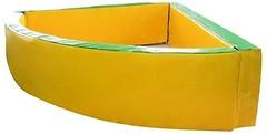 Фото Tia-sport Сухой бассейн угловой 130x130x40 см (0252)