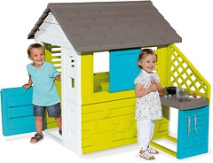 Фото Smoby Игровой домик с кухней Pretty (810703)