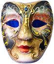 Фото Arjuna Маска карнавальная Венецианская 23 см (29031)
