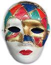 Фото Arjuna Маска карнавальная Венецианская 25 см (29029)