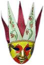Фото Arjuna Маска карнавальная Венецианская 44.5 см (29041)