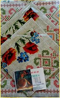 Фото Selena Маки 1 Комплект скатерть+ салфетки 120x150