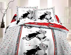 ТЕП 821 Коты двуспальный Евро