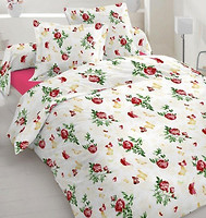 Home Line Бабочка двуспальный Евро бордовый (105112)