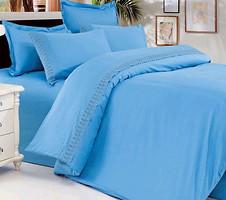 Love You Голубой двуспальный Евро (009866)