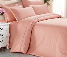 Love You Светло-розовый двуспальный Евро (009872)