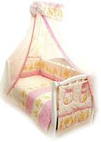 Twins Comfort Постельный комплект Мишки со звездами розовый (C-016)