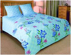 Колорит 846 Premium Алисия blue двуспальный Евро
