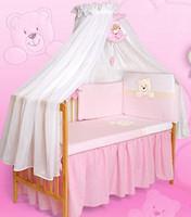 Tuttolina Морда мишки 7 эл. детский розовый-белый