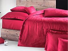 Фото Issimo Home Magnus Claret Red двуспальный Евро