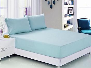 Hobby Простынь 160x200+25 + наволочки 50x70 голубой (26954)  ціни у ... 89153419483cf