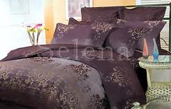 Фото Selena 600204 Абстракция фиолетовая двуспальный Евро