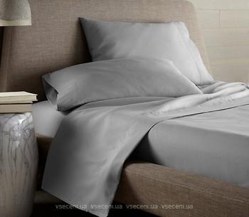 605ce07d906e Boston Textile Jefferson Простынь на резинке сатин 140x190 Grey  (BJSGR140190). Купить в Киеве, в Украине. Цены в интернет магазинах