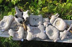 Лин-текс Льняная подушка-игрушка 15x20