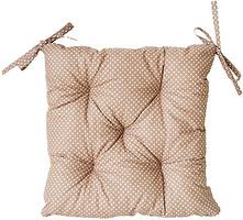 Прованс Горох коричневый Подушка на стул 40x40