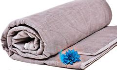 Хеппи лен Льняное летнее одеяло 105x140