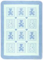 Vladi Барни 100x140 голубое