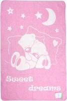 Vladi Сонный умка 100x140 розовый