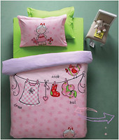 Karaca Home Teen Molly 160x220 розовый