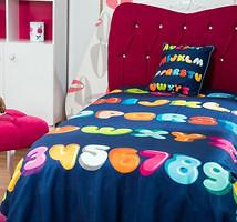 Home Sweet Home Alfabeto 180x240 синий