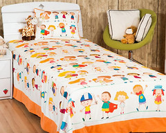 Home Sweet Home Bambine 180x240 бело-оранжевый