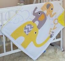 Маленькая Соня Арт дизайн Желтые слоники