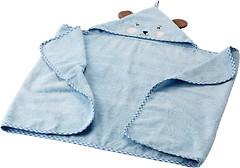 IKEA 502.642.63 Бадет с капюшоном голубое