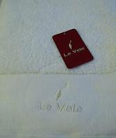 Фото Le Vele Полотенце махровое 50x100 молочное