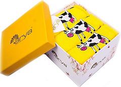 Arya Набор полотенец Cow желтый