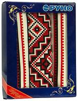 Фото Руно Комплект полотенец Украинский орнамент 45x80 красный (707Т)