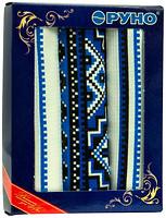 Руно Украинский орнамент 45x80 голубое (202.15)