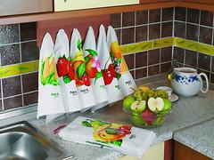 Фото Fakili Набор полотенец с фруктами 30x50 (1154082)