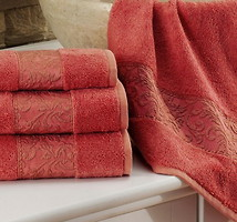Фото Issimo Home Ravenna rose color 30x50 красный