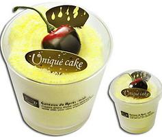 Фото Unique Cake Кекс ванильный 33x33 желтое