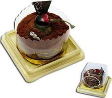 Фото Unique Cake Мусс золотисто-шоколадный 25x25