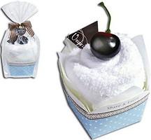 Фото Unique Cake Бисквит крем, вишня 27x27 белое