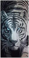 Фото Shamrock Tiger 75x150 черно-белое