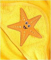 Sensillo Полотенце с уголком 3D Yellow 75x75 (24327)