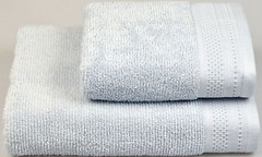 Фото Home Line Microcotton 50x85 голубое (126263)
