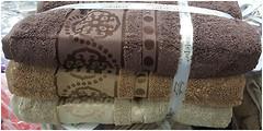 Фото Cestepe Набор полотенец микрокоттон 50x90 3 шт коричневый