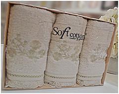 Фото Soft Cotton Luna 85x150 кремовое